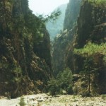 Samaria gorge - starting point for the hike