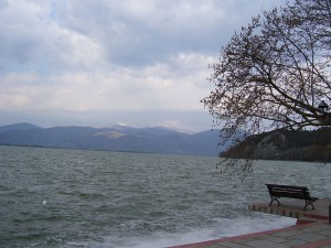 Lake Oresteiada, Kastoria, Greece