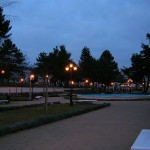 New park in Kozani, Macedonia, Greece