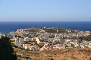 View of Rethymno from the fortress