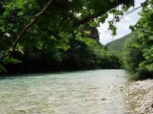 Acheron river, Epirus - Greece