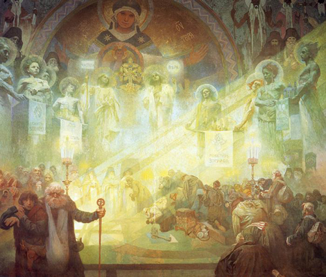 Mucha Alfons - The Holy Mount Athos (1926)