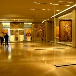 Byzantine Museum, Athens - Room of the icones - Photo by Giovanni Dall'Orto, 2009