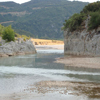 Acheloos river in western Greece
