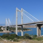 Chalkida Bridge, Euboea, Greece