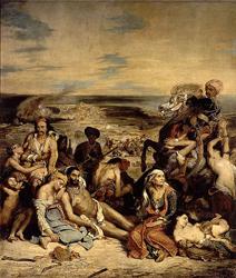 Eugène Delacroix - Le Massacre de Scio, 1824, Louvre, Paris