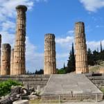 Temple of Apollon in Delphi