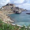 The Acropolis of Lindos,Rhodes Island, Dodecanese, Greece
