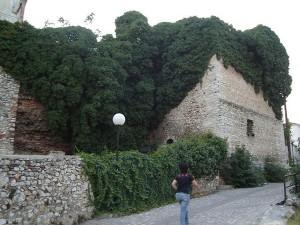 Byzantine wall in Drama