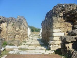 Ancient street in Edessa