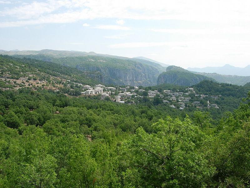 Village of Monodendri, Epirus