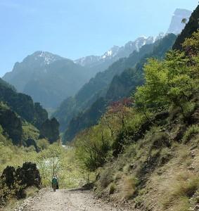 Aoos gorge, Epirus