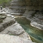 Natural pools of Papingo, Epirus