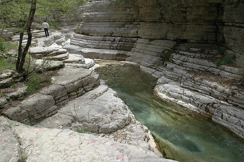 Natural pools of Papingo, Epirus