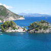 The bay of Parga, Epirus, Greece