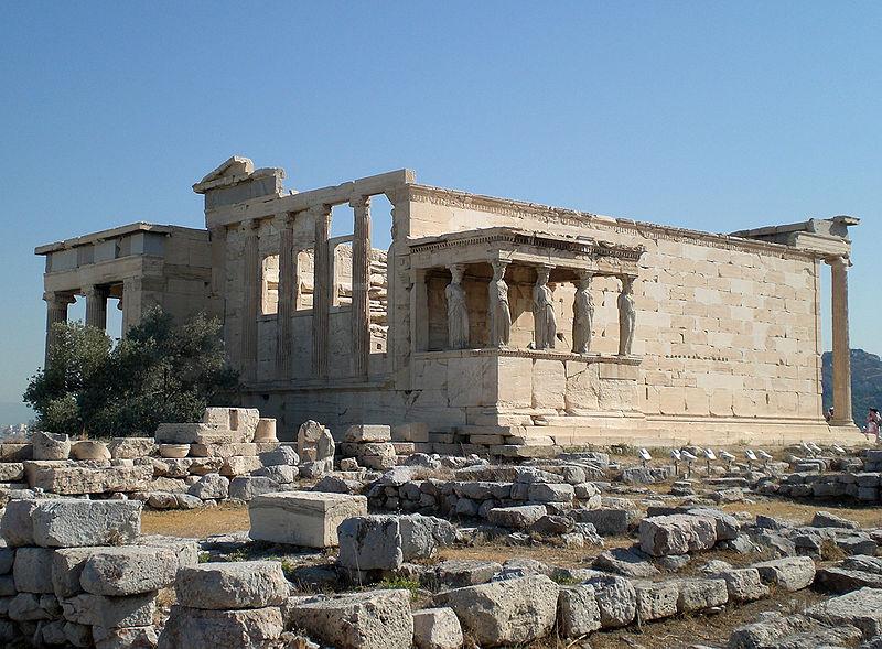 Erechtheum on Acropolis, Athens