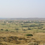Landscape around Fisini, Lemnos, Greece