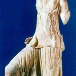 Marble statue of Artemis, Archaeological museum of Florina