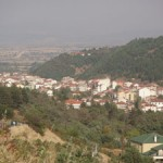 Florina - From the Northwest (National Road 2 to Vigla)