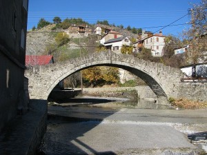 Old Bridge in Dotsiko, Grevena