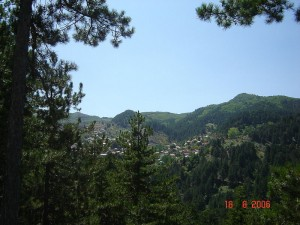View of Perivoli, Grevena