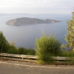 Island of Pseira in Mirabello Bay, Crete