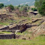 Amphipolis, the site that many of the museum exhibits were found