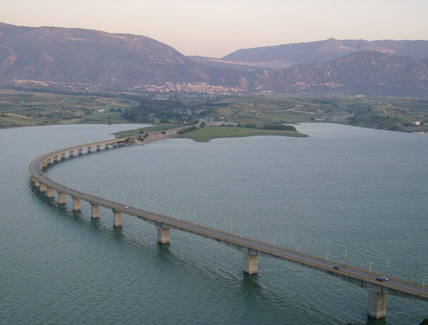 Kozani - Aliakmonas bridge