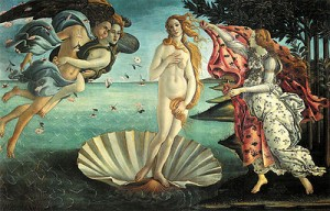 The Birth of Venuby Sandro Botticelli, ca. 1485