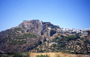 Hora with castle, Kythira