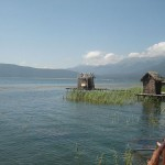 Fisherman's cabin at Lake Prespa, Greece