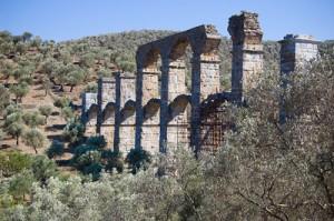 Roman Aqueduct in Lesbos