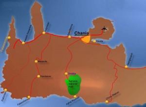 Map of Westcrete