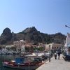 Lemnos harbour and castle