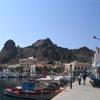 Lemnos harbour and castle
