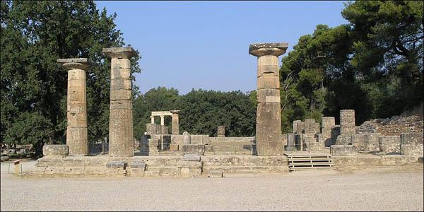 Olympia Temple of Hera