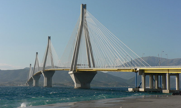 Patras bridge Rion-Antirion