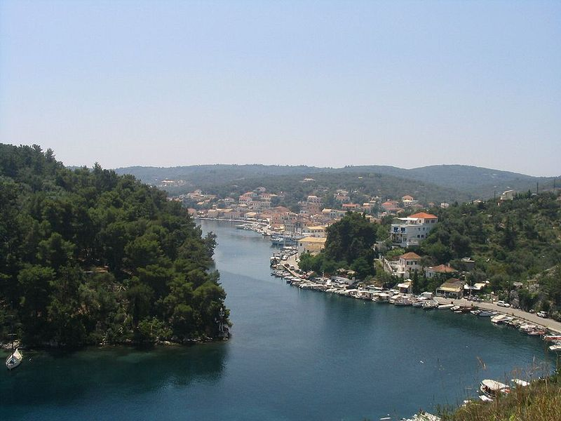 Gaios port, Paxos, Paxi, Ionian Sea, Greece
