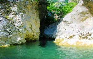 Acheron River Canyon, 1994, Preveza