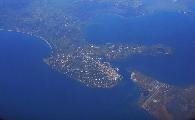 Preveza, Greece from above