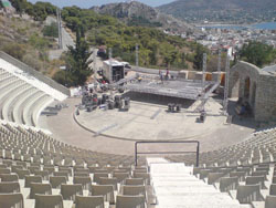 Evripidio theatre in Salamina