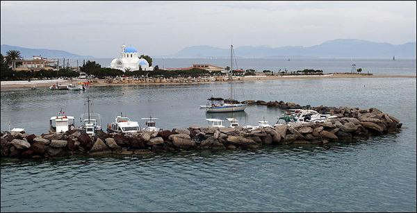 Angistri island