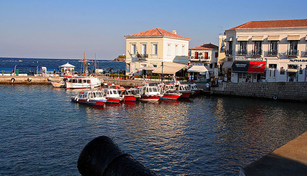 The Port of Spetses