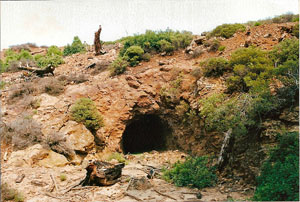 Pb-Zn mine of Koumaria in Thassos