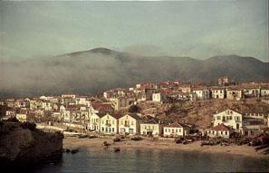 Limenaria, Thasos in 1950's