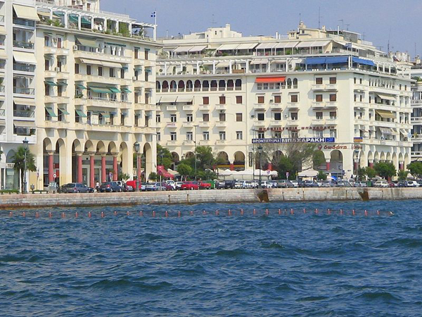 Paralia at Aristotelous Square, Thessaloniki, 2006