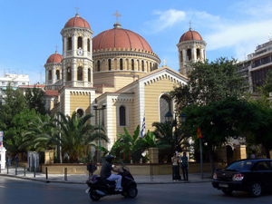 The Metropolitan church of Thessaloniki