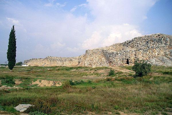 Tiryns Cyclopean masonry