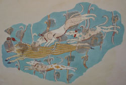 Tiryns fresco
