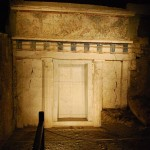 Facade of Philip II tomb, Vergina